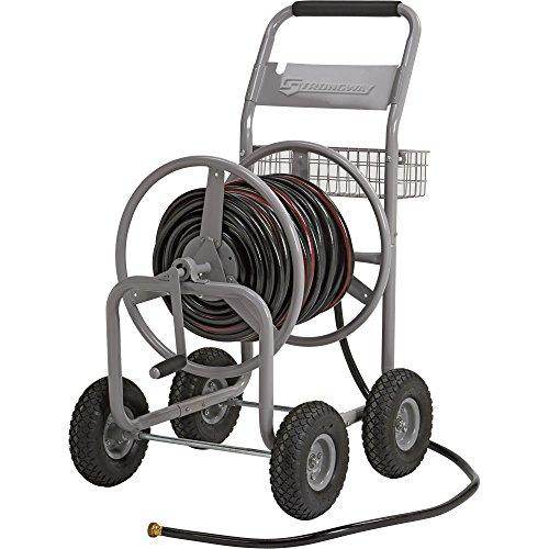 Strongway Garden Hose Reel Cart - Holds 400ft x 58in Hose