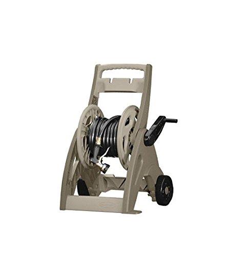 Suncast Hose Reel Cart Best Hosemobile Wheeled Caddy For Flexible Water Pipe Lightweightamp Portable Holder