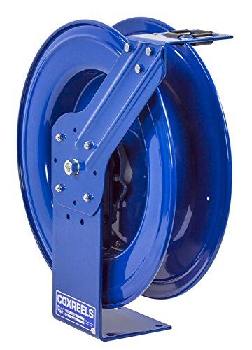 Coxreels SHL-N-3100 Low Pressure Spring Rewind Hose Reel with Super HubTM 38 ID 100 hose capacity less hose 300 PSI