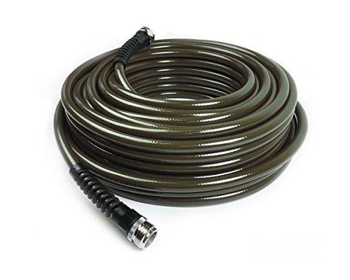Water Right 400 Series Polyurethane Slimamp Light Drinking Water Safe Garden Hose 100-foot X 716-inch Brass