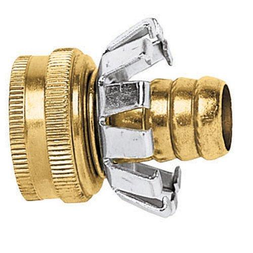 Gilmour Brass Female Hose Mender Clincher Type 58in