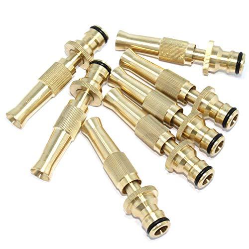 1pcs Garden Irrigation Spray Gun Adjustable Brass Sprinkler Garden Hose Sprinkler System Car Wash Lawn Watering Water Gun