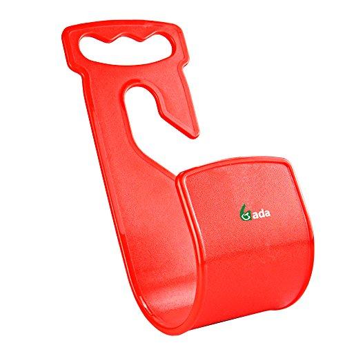 Gada Best Garden Hose Hangerwall Mount Hose Holderdurable Rust-free Hook red