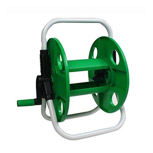 BDR Trading Green Plastic Gardening Pipe Rack Garden Pipe Holder Hose Car