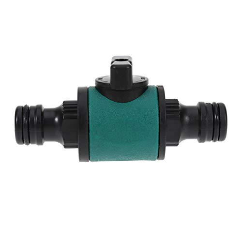 Yardwe Garden Hose Pipe Connector Irrigation Watering Joint Quick Tap Connector with Switch for Agricultural Planting