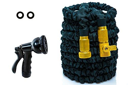 Newest 25ft Doublequotm&quot Commando Hose Mark Ii Expandable Hose Heavy Duty Expanding Hose A Gift Spray Nozzle Solid