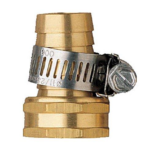 Orbit 58 Female Aluminum Water Hose Repair Kit W Hose Clamp Tri-lingual