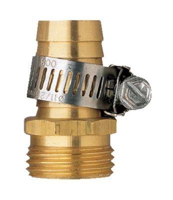 Orbit Male Aluminum Water Hose Repair Kit Whose Clamp - 58&quot Tri-lingual