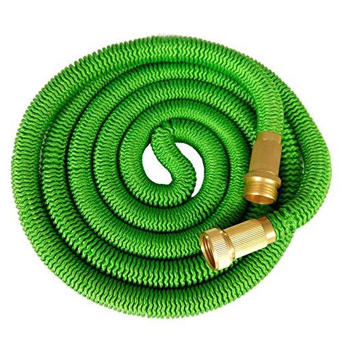 expanding garden hose. Klaren 75\u2032 Expanding Garden Hose,ultimate Expandable Hose, Solid Brass Connector Fittings 2016 New(green) Hose