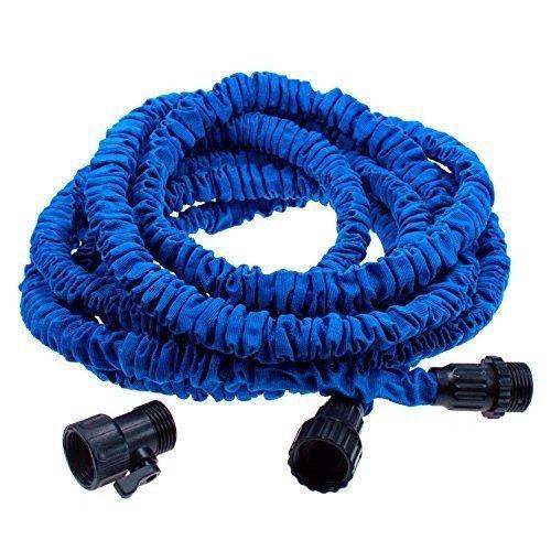 Klaren Flexible Expandable Expanding Gardenamp Lawn Water Hose 50 Ft Feet Blue Us Seller