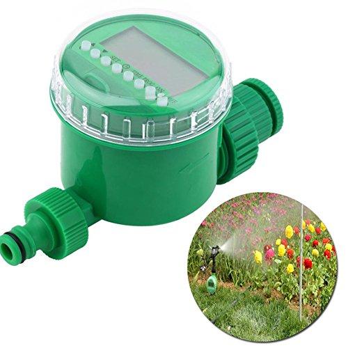 Awakingdemi LCD Waterproof Home Automatic Water Timer Garden Irrigation Controller