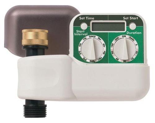 Orbit HT7 2-Dial Digital Hose Faucet Watering Timer Tri-Lingual