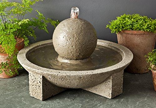 Campania International FT-159-PV M-Series Sphere Fountain Pietra Vecchia Finish