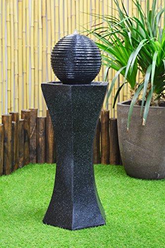 ASC Solar Pedestal Ball Fountain