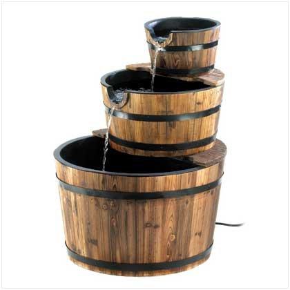 Apple Barrel Fountain