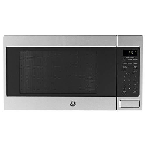 GE 1150 Watt Countertop Microwave Oven Stainless Steel Renewed