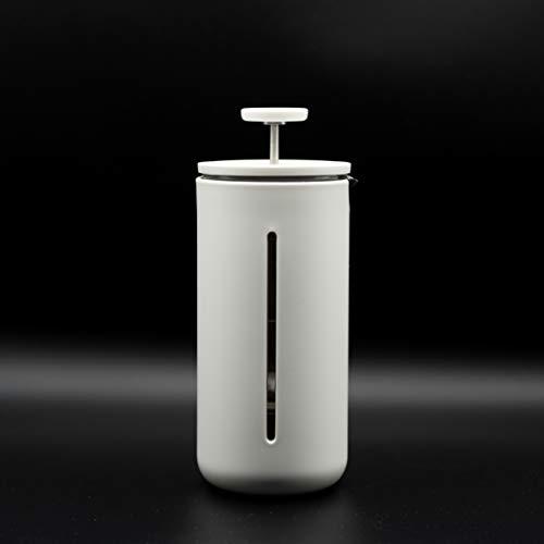 Original Design Small U French Press Coffee Maker Tea Maker  Heat Resistant Glass  Home Barista 450 Milliliter