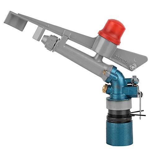 Mumusuki Zinc Alloy Sprinkler Gun Head 1-Inch Adjustable Rocker Arm Nozzle Agricultural Water-Saving Irrigation with 60-70-Foot Coverage