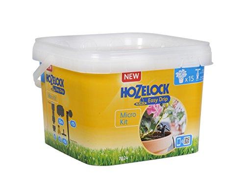 Hozelock Ltd 7024 0000 Micro Drip Watering Kit Sensor Controller Plus 40x25x15 cm Black