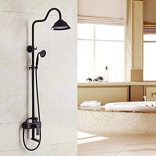 ZXY-NAN Handheld Showerheads Bathroom Luxury Rain Mixer Shower Combo Set Wall Mounted Rainfall Shower Head System Bathroom Accessories