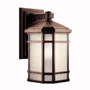 Kichler Lighting 11018pr Cameron 18-watt 1-light Fluorescent Energy Star Outdoor Wall Mount Prairie Rock With