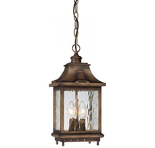 Minka Lavery 72114-149 Wilshire Park Aluminum Outdoor Ceiling Light 225 Total Watts Bronze