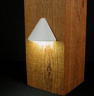 Aurora Deck Lighting Mini Vega Post Light 12V 1W White PLA8500
