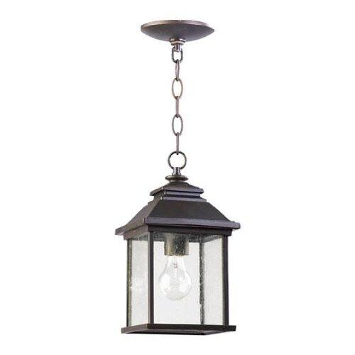 Quorum 7941-7-86 Pearson Outdoor Hanging Light In Oiled Bronze