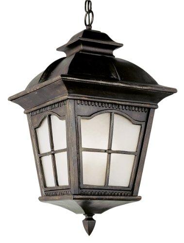 Trans Globe Lighting PL-5421 AR  Antique Rust Outdoor Hanging Light