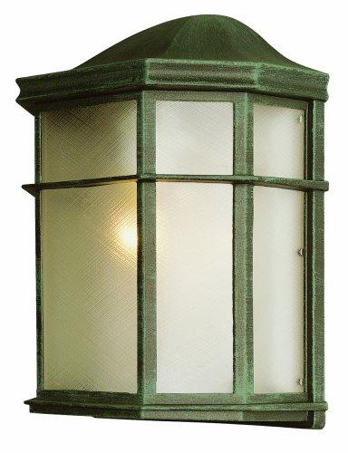 Trans Globe Lighting 4484 Vg 9-34-inch 1-light Outdoor Wall Pocket Lantern Verde Green