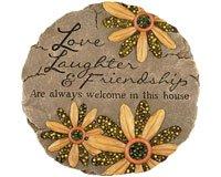 Carson Home Accents Cha10146 Beadworks Garden Stone Friendship