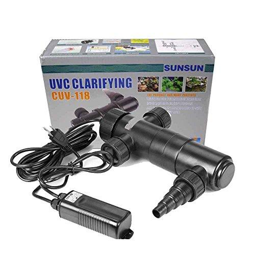 18w Uv Ultraviolet Sterilizer Light Clarifier Aquarium Pond Koi Lamp Bulb Filter