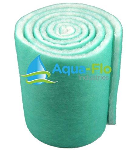Aqua-Flo 18 Pond Aquarium Filter Media 120 10 Feet Long x 1 Thick GreenWhite