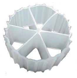 K2 XL Cz25 Filter Media PREMIUM GRADE Moving Bed Biofilm Reactor MBBR for Aquaponics • Aquaculture • Hydroponics • Ponds • Aquariums by Cz Garden Supply 1 Gallon