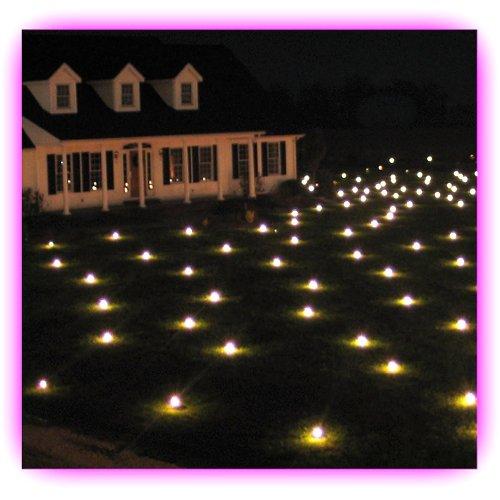 Lawn Lights Illuminated Outdoor Decoration LED - Warm White Medium