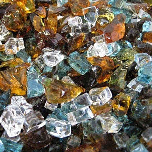 FireCrystals Montana Mosaics Tempered Fire Glass
