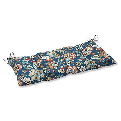 Pillow Perfect IndoorOutdoor Telfair Peacock SwingBench Cushion