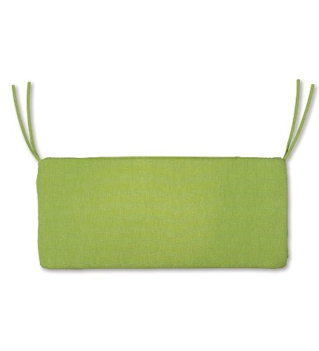 47 x 16 Weather-Resistant Outdoor Classic SwingBench Cushion in Leaf Green