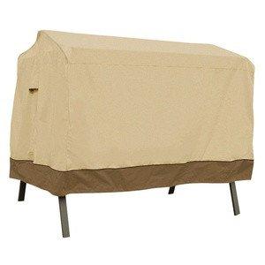 Classic Accessories 72962 Veranda - Canopy Swing Cover PebbleBarkEarth Finish