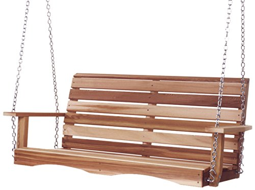 All Things Cedar Ps48-u Porch Swing, 4'