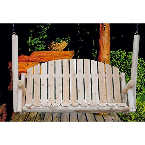 Lakeland Mills Cf75 Country Porch Swing 5