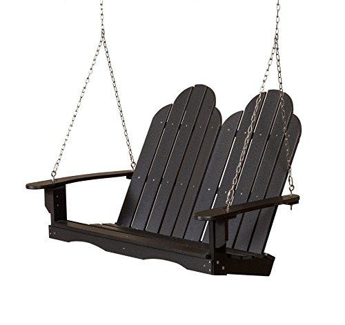 Wildridge Recycled Plastic Classic Adirondack 4ft Porch Swing