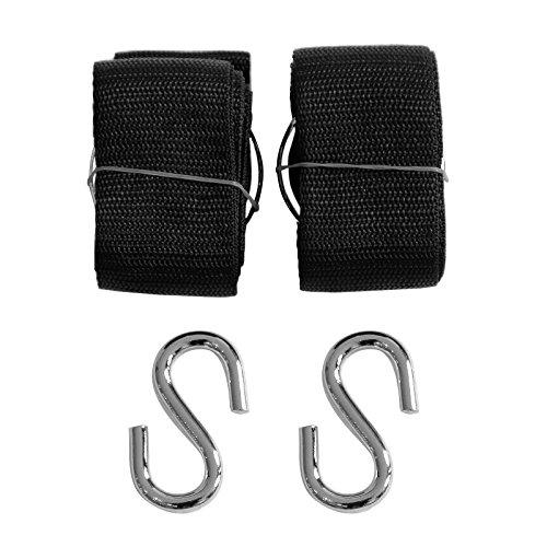 songmics set of 2 hammock tree straps w s hooks wide heavy duty easy suspension black top 24 for best hammock tree strap  rh   bestformygarden