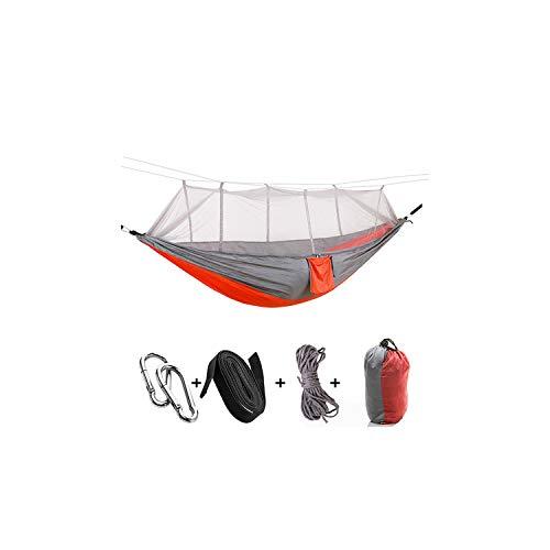 Winter-Story-Hammocks Hammock1-2 Person Outdoor Net Parachute Nylon Camping Hanging Sleeping Bed Swing Portable 2 Travel ChairHd002-2