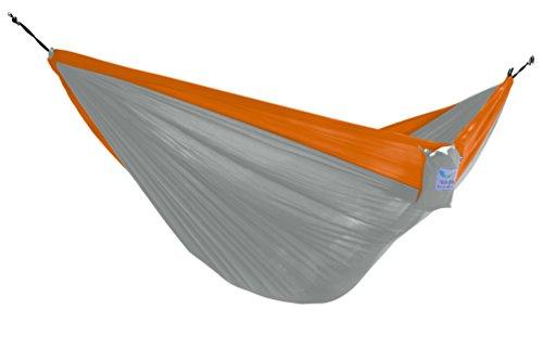 Vivere Parachute Nylon Single Hammock GreyOrange