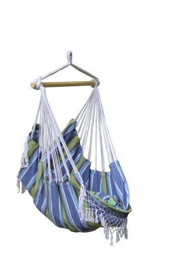 Vivere Brazilian Hammock Chair Oasis Blue by Vivere Ltd Hammocks