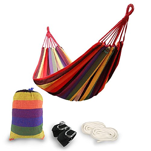 Wehammock  The Comfiest Two Person Double Cozy Brazilian Nest Hammock With Tree Straps Indoor Outdoor Backyard
