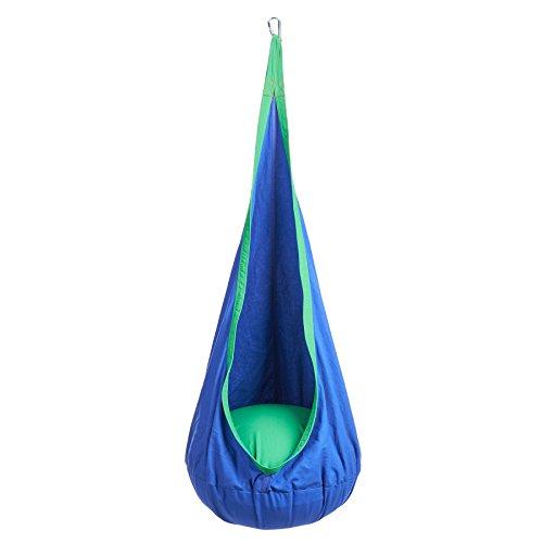 Co-z Indoor Outdoor Kid Child Hanging Chair Swing Seat Hammock Nook Tent blue
