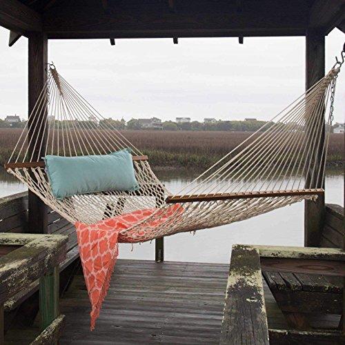 Pawleys Island 13dcot Large Original Duracord Rope Hammock- Oatmeal po455k5u 7rk-b285424