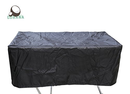 COBANA Garden Furniture Rectangular Table Set Cover 48 Lx30 Wx18 H Inches Waterproof